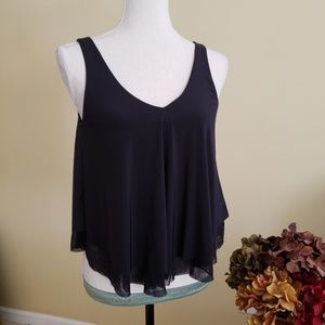 Express silky tank top size XS